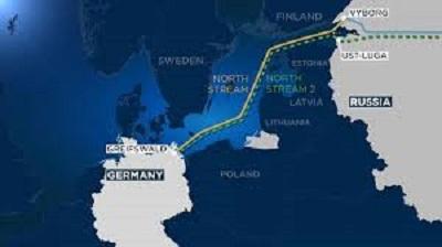 Северный поток 2 ужесточение санкций
