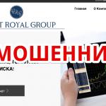 Жалоба на брокера Credit Royal Group