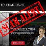 Осторожно! Деятельность брокера бинарных опционов Edgedale Finance – несанкционированная