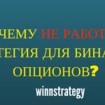 Почему не работает стратегия бинарных опционов